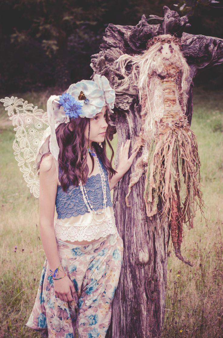 'Fairy Princess' Photography: Blair Alexander Massie (B.A Marauder) blairalexander.tu... | Concept/Design/Styling/Makeup: Alice Halliday etsy.com/shop/alicehalliday | Hair: Faye Mazani | Model: Clara Kearney | Location: Liss Ard Estate, Skibbereen, Co. Cork, Ireland