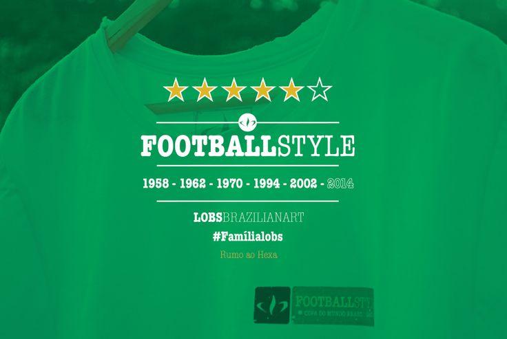 #FootBallStyle #LobsBrazilianArt #CopaDoMundoBrasil2014 #Style  www.lobs.com.br