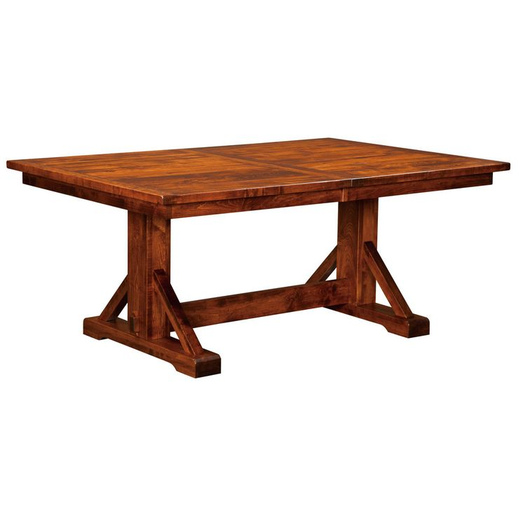 Chesapeake Trestle Extension Table – Amish Tables