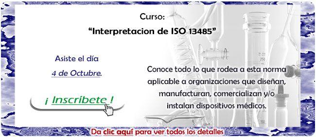 La norma #ISO13485 es el estándar aplicable a las organizaciones que diseñan, manufacturan, comercializan y/o instalan dispositivos médicos. www.sincal.org/cursos-de-capacitacion-iso13485.html