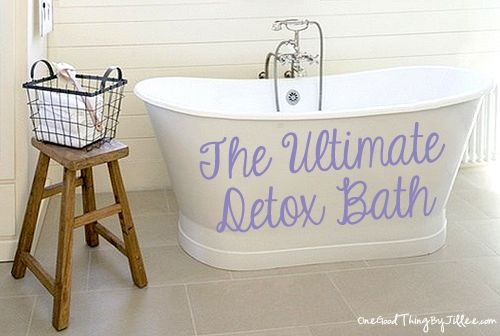 The Ultimate Detox Bath | One Good Thing by Jillee
