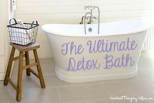 The Ultimate Detox Bath