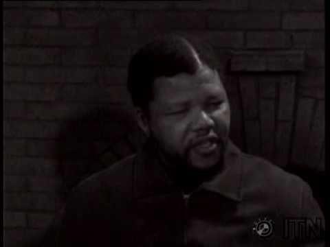 La prima intervista in tv di Nelson Mandela