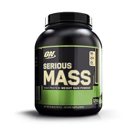 Optimum Nutrition Serious Mass Whey Protein Weight Gainer, Chocolate 6 Pound #OptimumNutrition