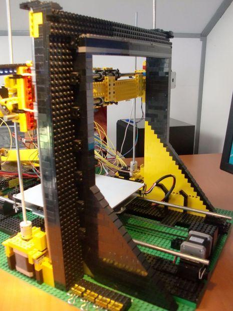 LEGO 3d Printer Lego, Printers and 3d printer