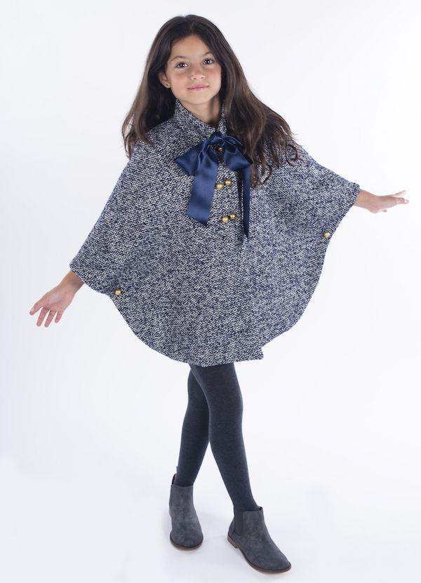Teté y Martina abrigos para niña otoño-invierno