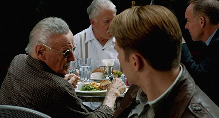 The Avengers (2012) Stan Lee spotted