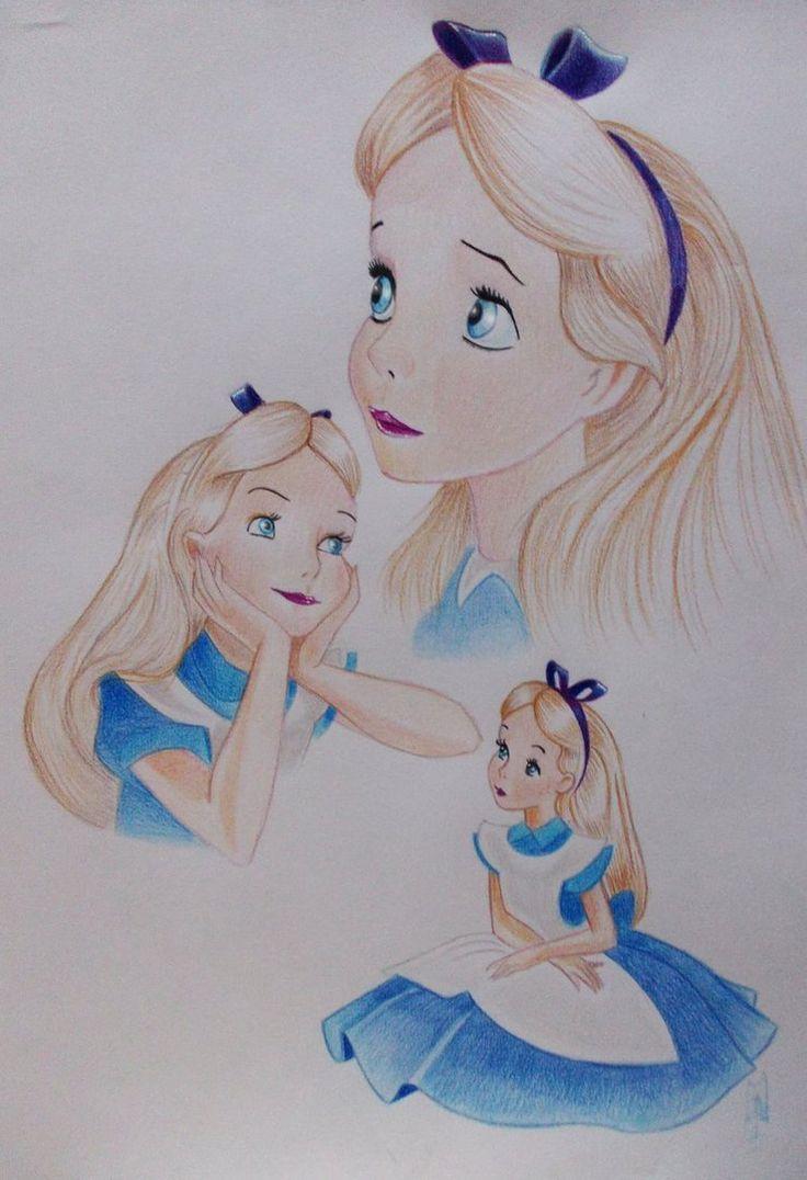 Uncategorized Drawings Of Alice In Wonderland 167 best alice in wonderland images on pinterest by artiefishel79 deviantart