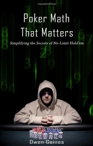 41 best poker books images on pinterest poker book cover art and poker math that matters simplifying the secrets of no limit holdem malvernweather Images