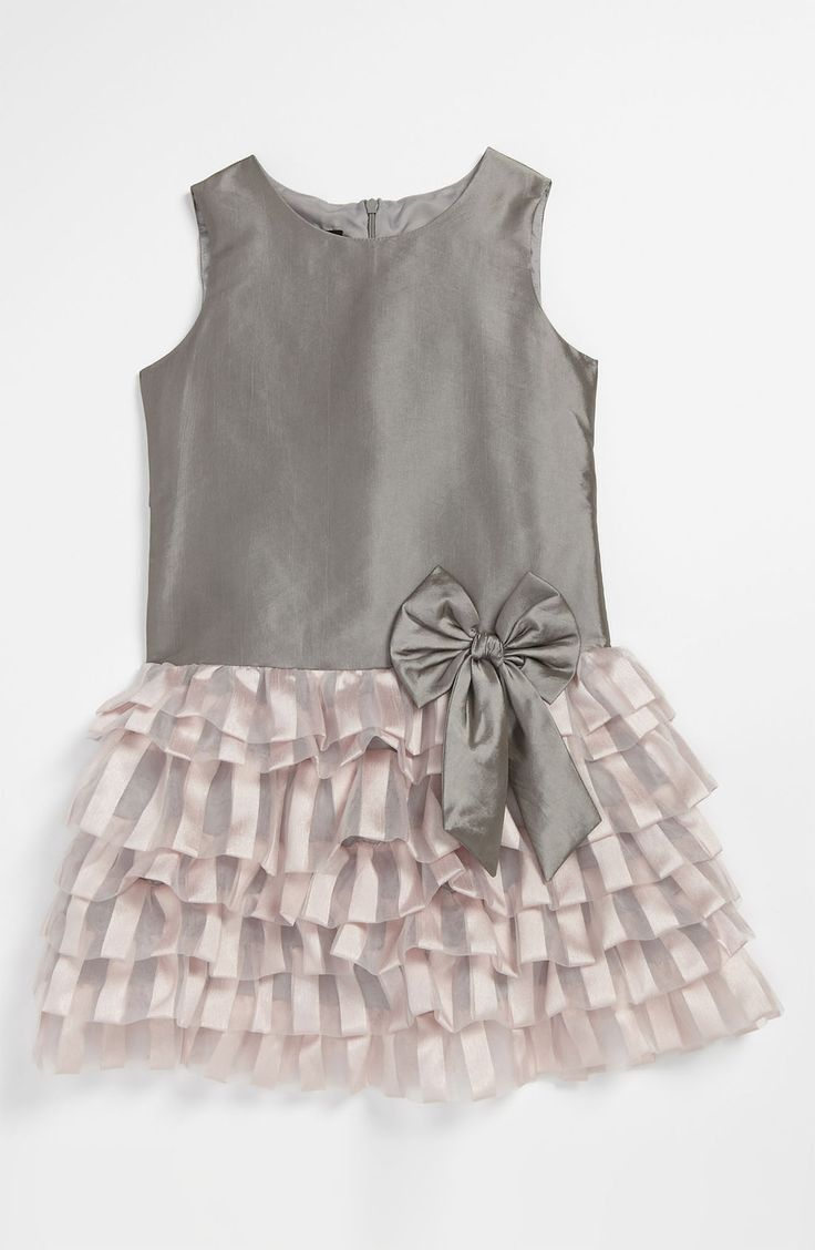 Free shipping and returns on Isobella & Chloe 'Prima Ballerina' Dress (Little Girls & Big Girls) at Nordstrom.com. Striped tiers cascade down the skirt of an enchanting dress accented with a sleeveless taffeta bodice and brilliant bow detail at the waist.