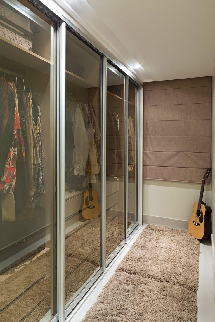 Apartamento de 99,50m² em Brasília para casal com filha. Foto: Haruo Mikami