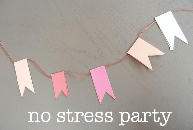stress-less party with super easy decorating ideas