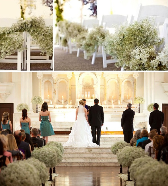 Wedding Altar Curtains: 21 Best Flowers Down The Aisle Images On Pinterest