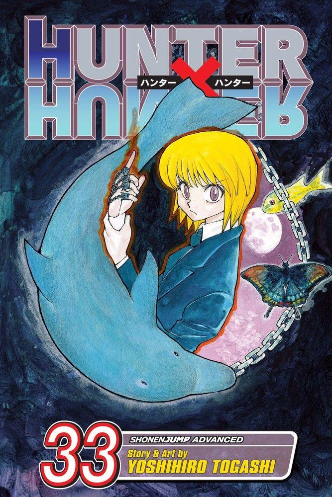 Hunter X Hunter Manga Volume 33 The journey to the Dark