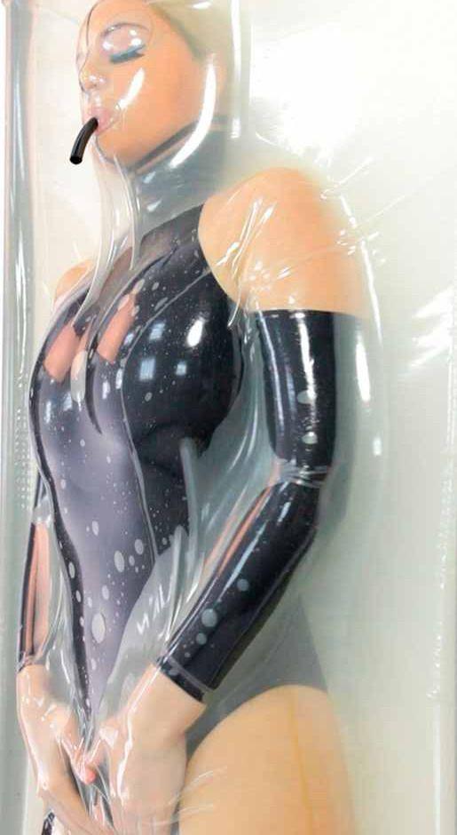 Slow motion sexual vaginal penetration