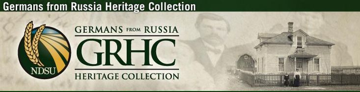 Germans from Russia Heritage Collection. My Grandmother on my father's side grew up as a Volga German in Russia.