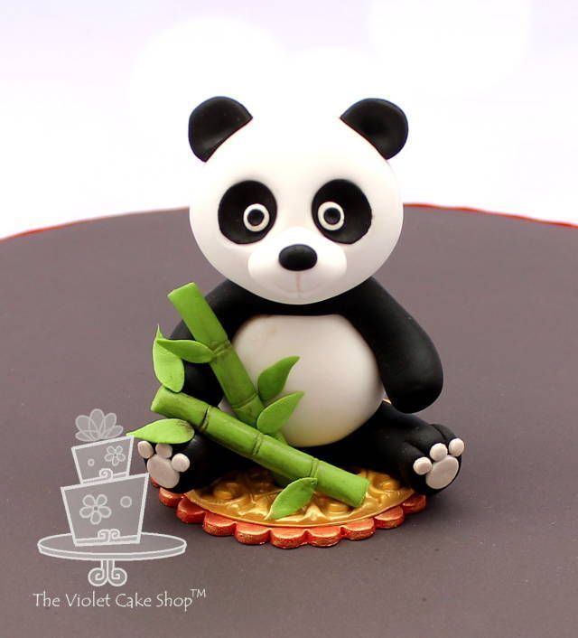 Panda for the It's a Small World collaboration - Cake by Violet - The Violet Cake Shop - CakesDecor