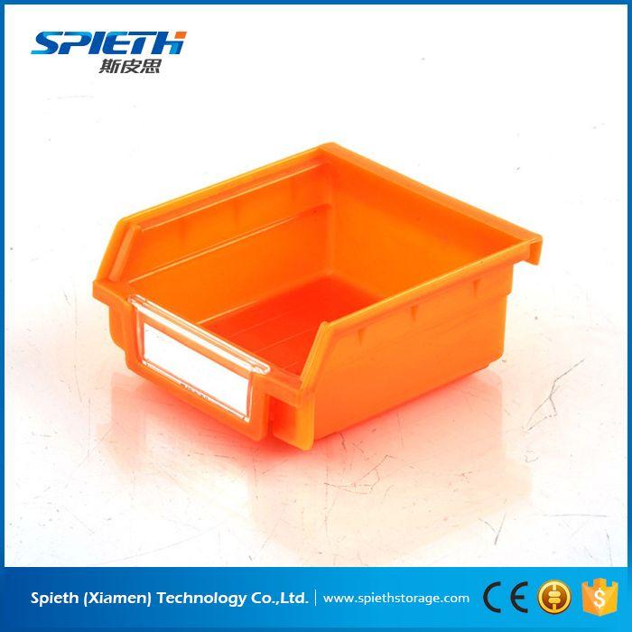industrial plastic storage stackable bins pp storage tool bin box