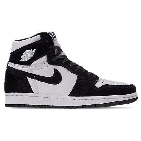 Nike Women's Air Jordan Retro 1 High Og Casual Shoes, White ...
