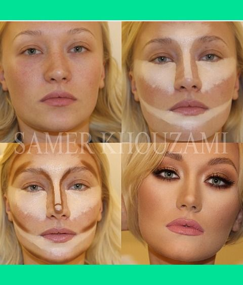 i mean....no way! Before and After make up transformation | Lona Z.'s Photo | Beautylish