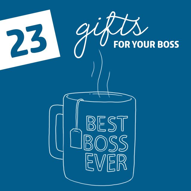 23 Appropriate Gifts for Your Boss- so you can suck up to them without getting yourself fired.