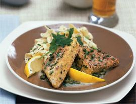 30 minutes or fewer  These make a great presentation!  Tempeh Triangles with Piccata Sauce, 3.0 out of 4 based on 3 ratings