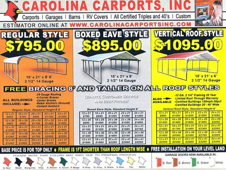 Opelousas/Carolina Carports | Quality Portable Buildings
