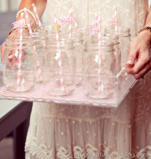 Simple and pretty party tips