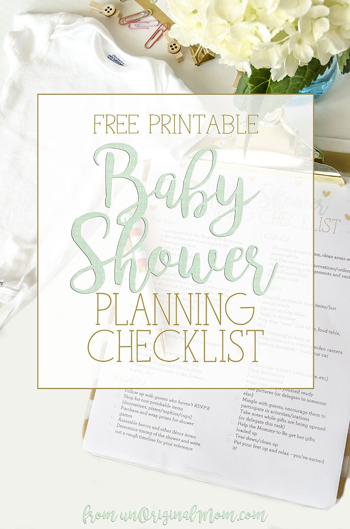 17 Best ideas about Baby Shower Checklist on Pinterest | Baby ...