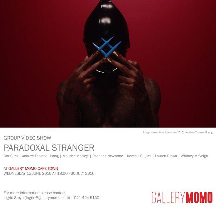 Invitation to Gallery MOMO Cape Town's annual video exhibition.