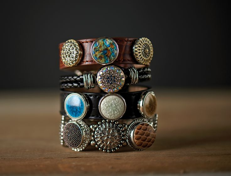 New Gingersnap bracelets & gingersnaps - We have lots of other colors/styles not pictured here @ our shop - Ginger snap jewelry Summer/Fall 2014