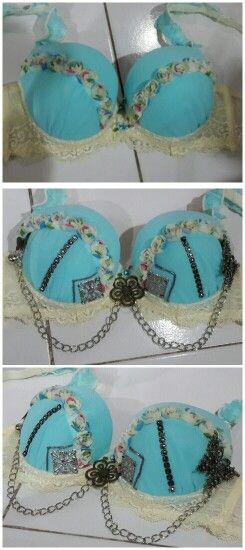 My creation : bellydance bra