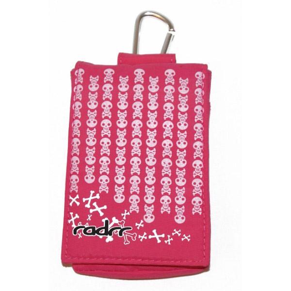Pink Skulls [insulin pump case]
