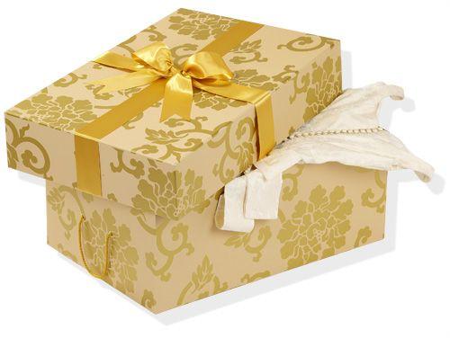 Une belle boîte pour ranger ma robe de mariée ♥