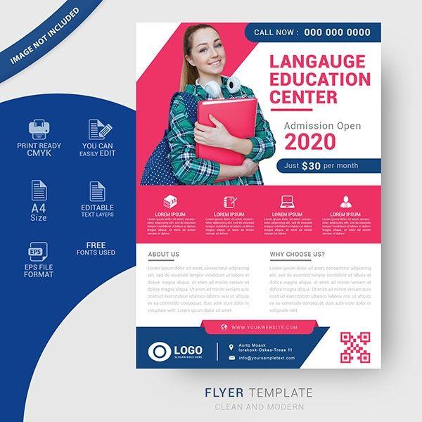 Education Flyer Templates Free Education Poster Design Education Banner Flyer Template
