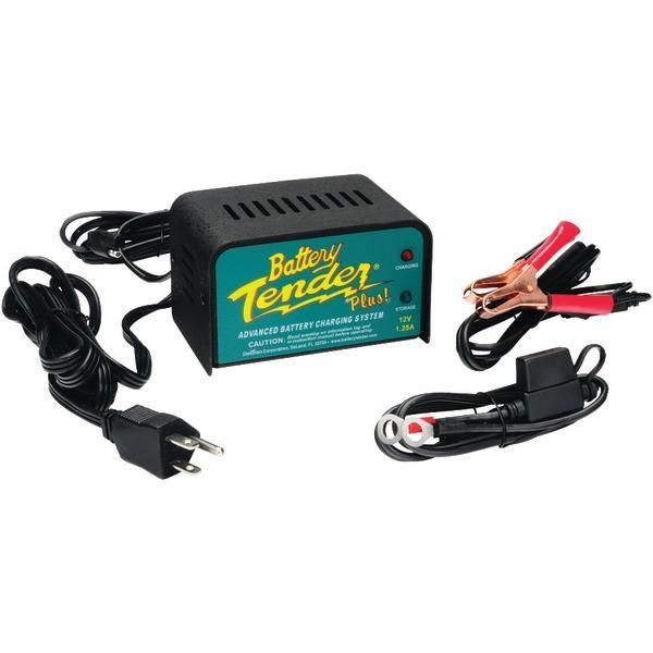 Battery Tender 021 0128 12 Volt 1 25 Amp Battery Charger Charger