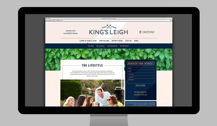 Property marketing agency Creative Order® created a full design and marketing program for a new property development  which we named King's Leigh   http://creative-order.com.au/property-marketing-agency/