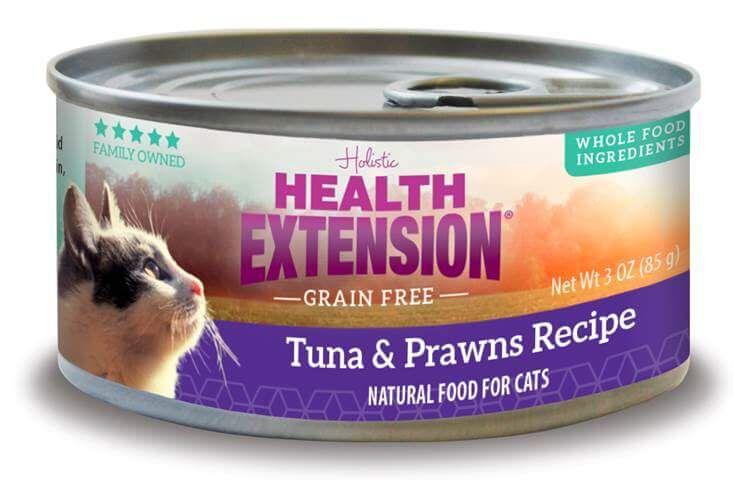 Health Extension Grain Free Tuna Prawns Recipe Canned Cat Food Ebay In 2020 Canned Cat Food Chicken Pumpkin Grain Free Cat Food