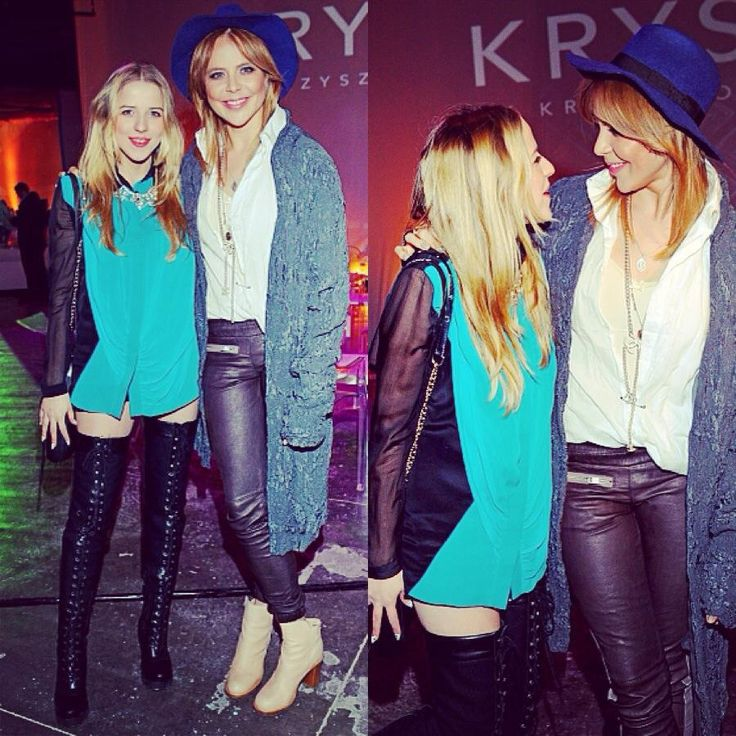 Jessica Mercedes i Maja Sablewska