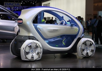 Foto Zeigt Twizy Als Concept Car Electric