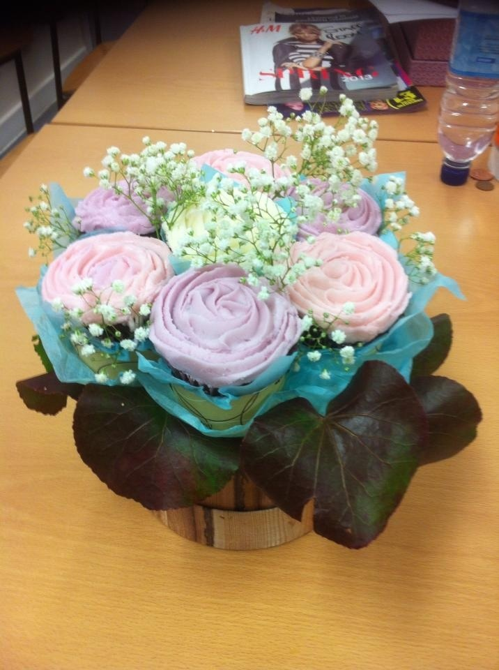 Flower Cupcake Boquet