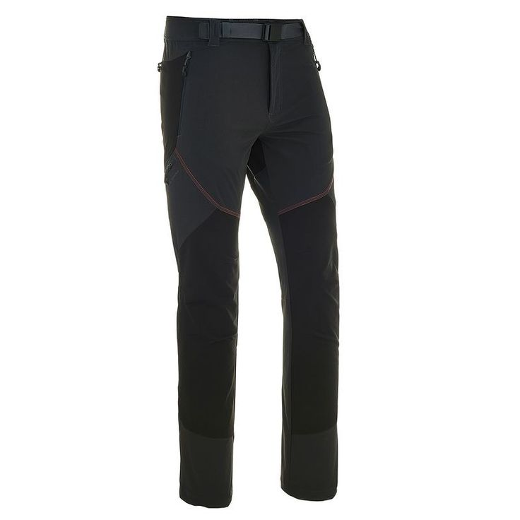 Trousers Hiking - Forclaz 900 Men's Walking Trousers - Dark Grey QUECHUA - Hiking Clothing and Accessories