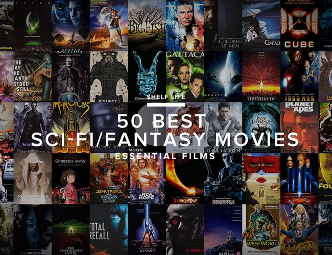 In the fifth installment of the Definitive Men's Movie Collection, we round up the 50 best sci-fi/fantasy movies. The essential sci-fi/fantasy movies.