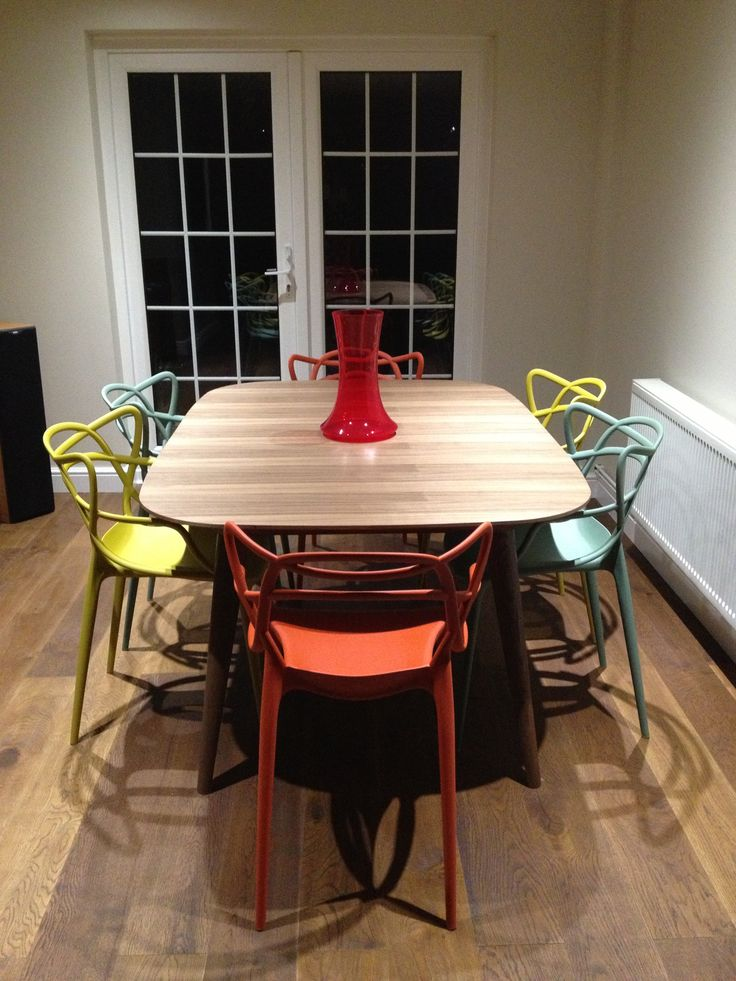 Im Loving Our Table And Chairs Kartell MatthewHilton Heals