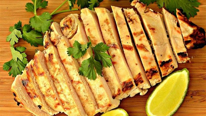 """Cilantro-Lime Grilled Chicken I """"I added a little tequila. Was fabulous!"""""""
