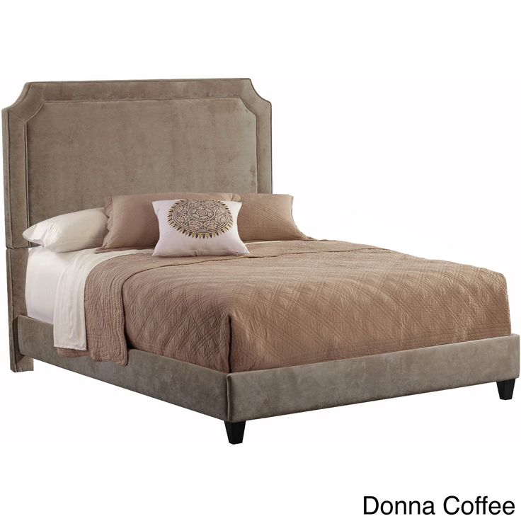 Manor Upholstered Queen Size Bed frame (