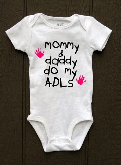 mommy and daddy do my adls handprint occupational by BlueBeltBaby