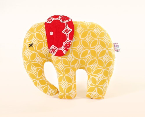Elephant doll by Sweet Batik Indonesia.