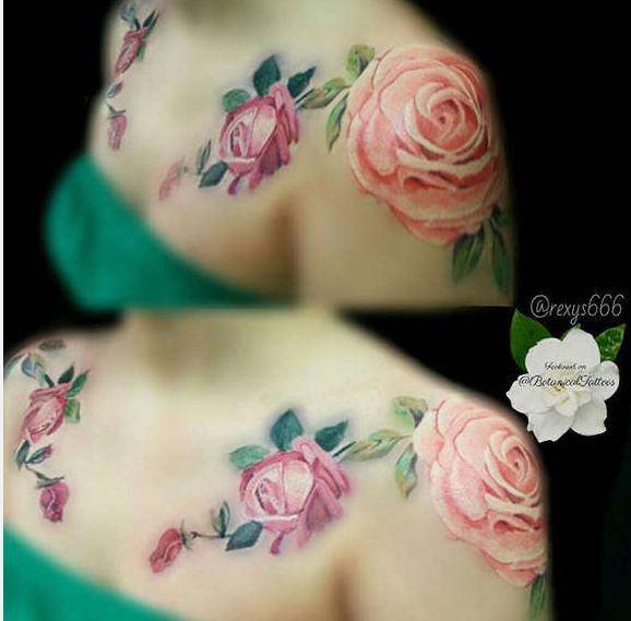 30 Best Shoulder Tattoos for Men & Women