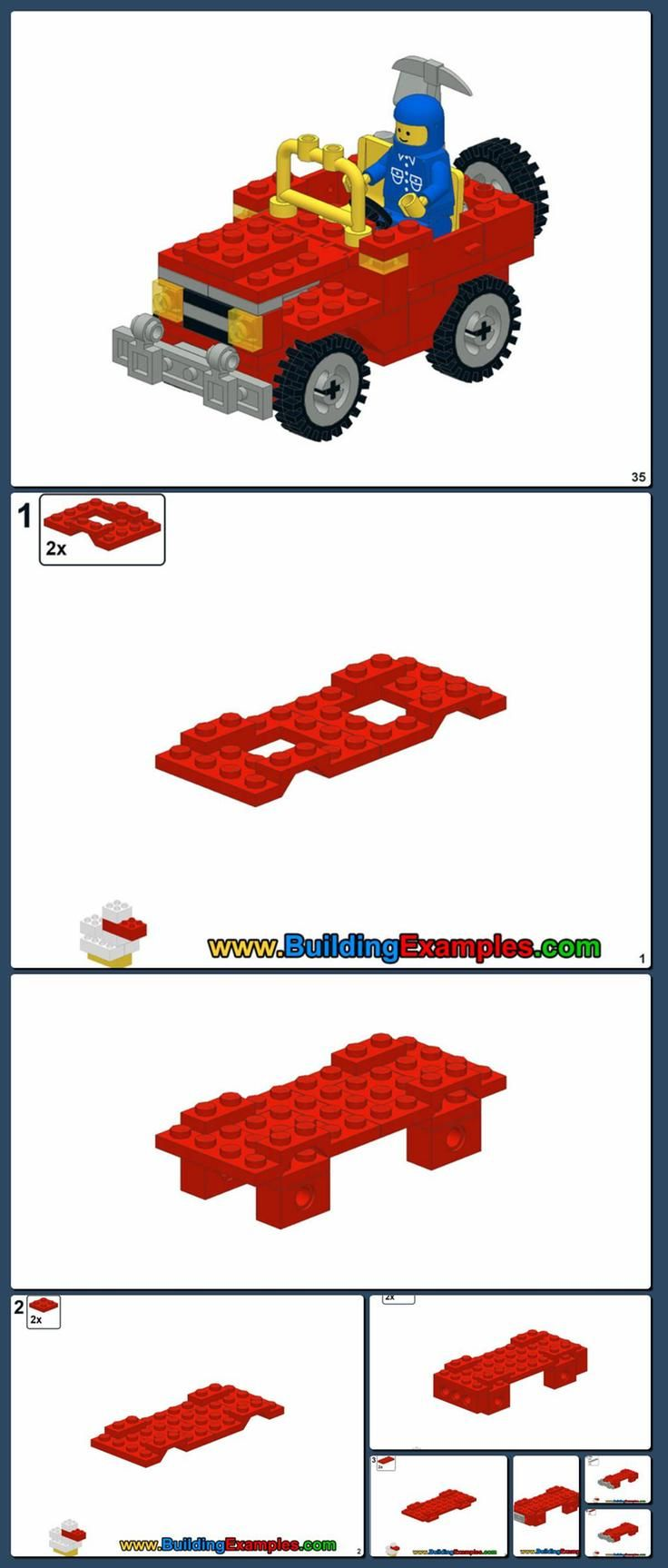 Duplo Police Car Instructions